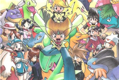 Pokémon Special, Cycles RF/VF et E