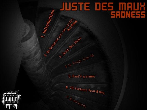 Trackliste Juste Des Maux
