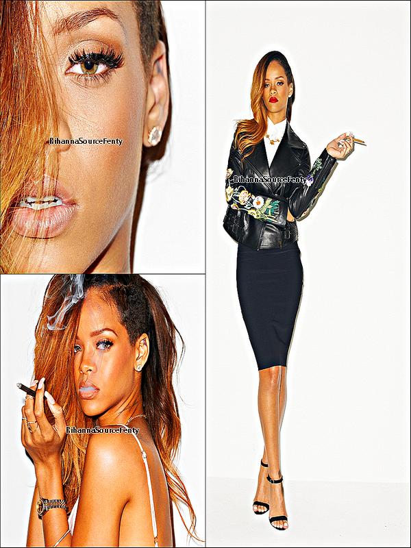 04/02/13 : Rihanna a publier des nouvelle photo du photoshoot pour le magazine Rolling Stone.