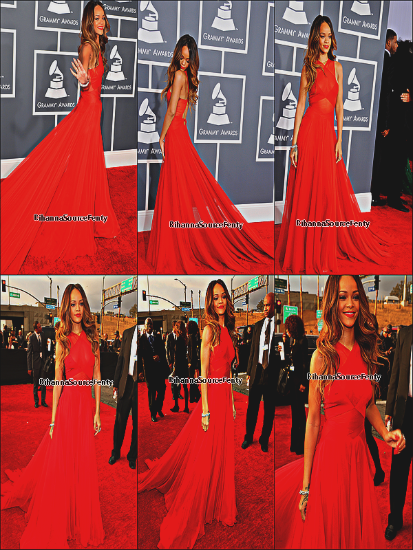 10/02/13 : Rihanna au Grammy Awards 2013 !