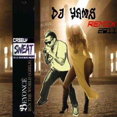 dj yams story / Dj Yams ft Beyoncé & Casely ft Lil  Jon - Run The Sweat World (Remix 2011) (2011)