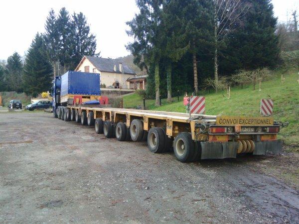 Convoi Polonais pris à Apach en Moselle