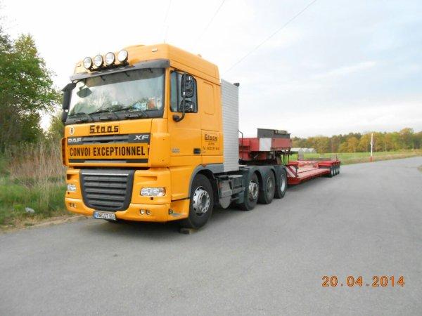 Convoi pris à la frontière allemande en Moselle