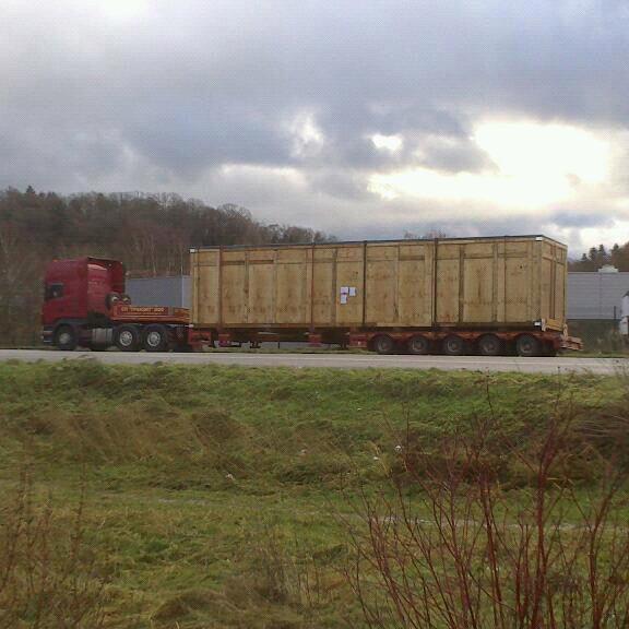 Convoi de passage à St Avold