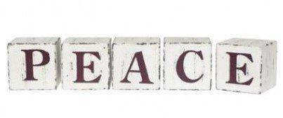 Peace?  L'amour ? Désolè, ce mot me hais. Peace?