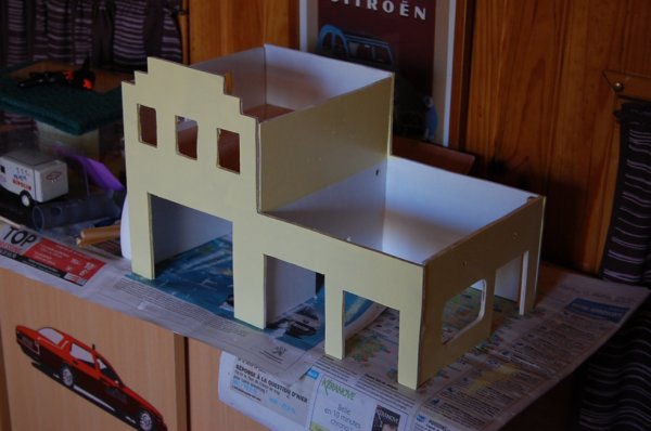 diorama garage citro n il n 39 y a de nouveau que ce qui a t oubli. Black Bedroom Furniture Sets. Home Design Ideas