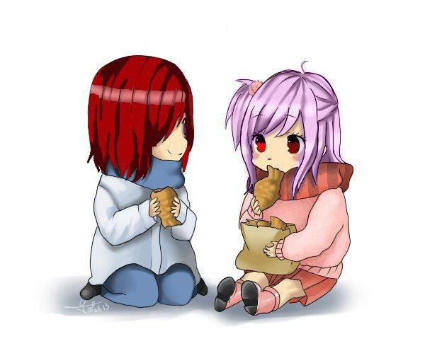 Shinobu et Mira