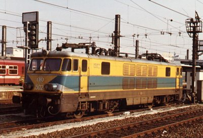 La série 15 SNCB , (ex type 150) .