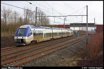 Parcours d'homologuation pour les AGC bimode SNCF