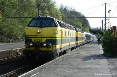 motrice diesel de secours pour TGV: SNCF , SNCB et DB .
