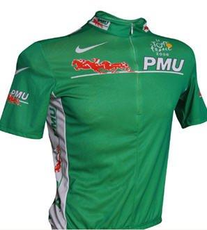 tous les maillot vert du tour de france 2011