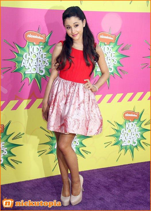 Ariana Grande Au Kids Choice Awards ❤