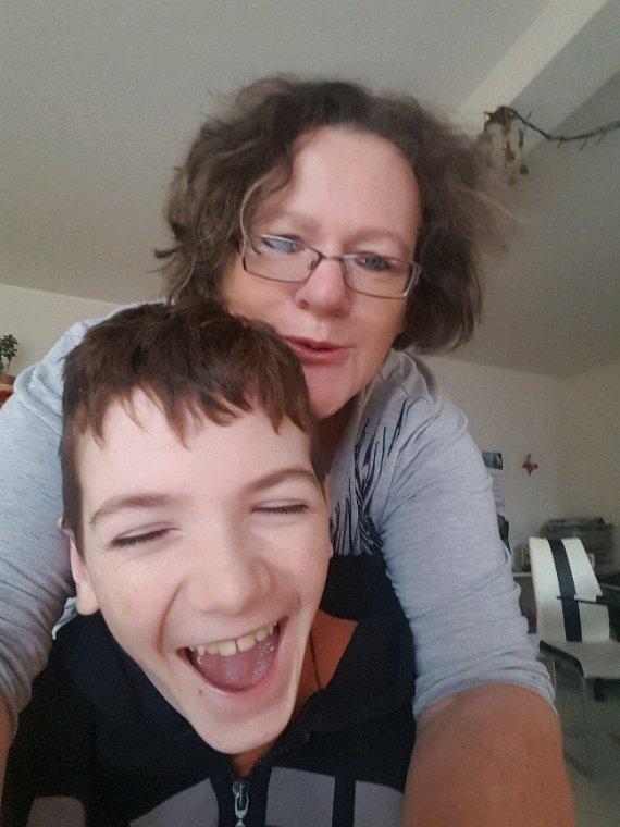 Mon fils et moi❤❤❤❤❤❤