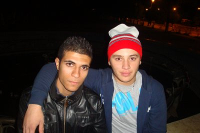 me and madjid