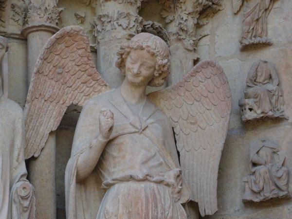 Visite de la cathédrale de Reims dép 51