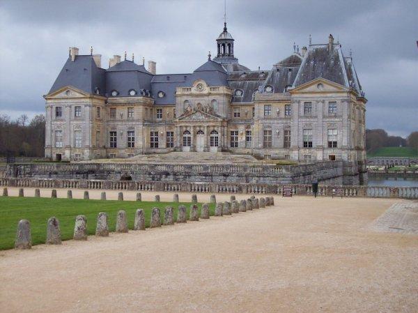 Visite du chateau Vaux le Vicomte