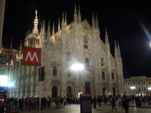 Cathédrale de Milan Italie