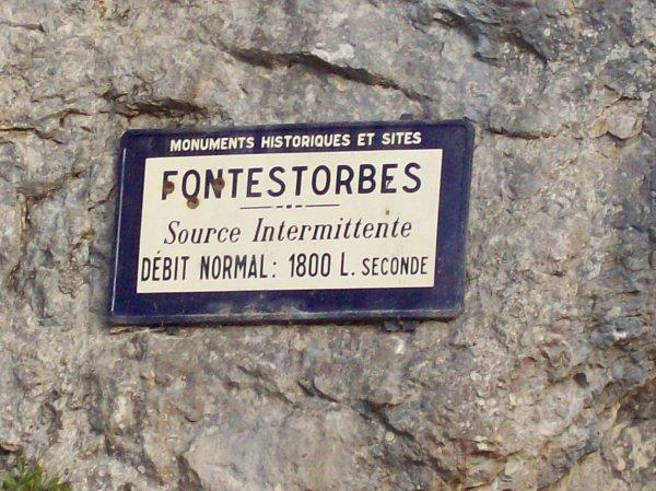 la Fontaine de Fontestorbes dép 09