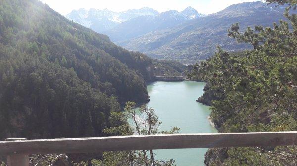 Ballade au barrage de pont Baldy