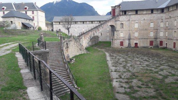 Visite du fort Mont Dauphin à Guillestre