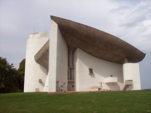 """Ronchamp visite de la Chapelle """"Le Corbusier"""" Notre Dame du Haut"""