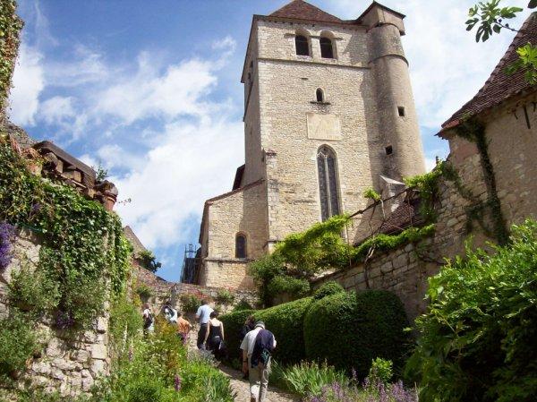 Visite du village de Saint Cirq Lapopie dép 46