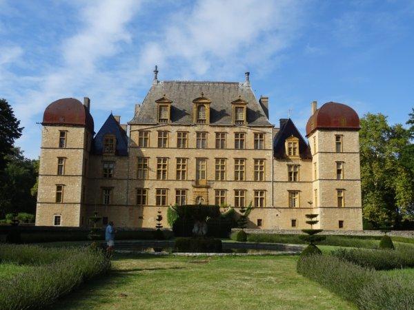 Visite du château de Fléchères dép 01