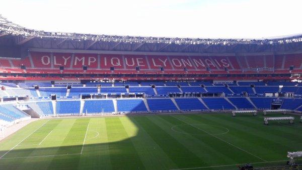 Visite du stade Lyonnais dép 69