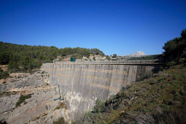 Ballade au barrage Zola dép 13