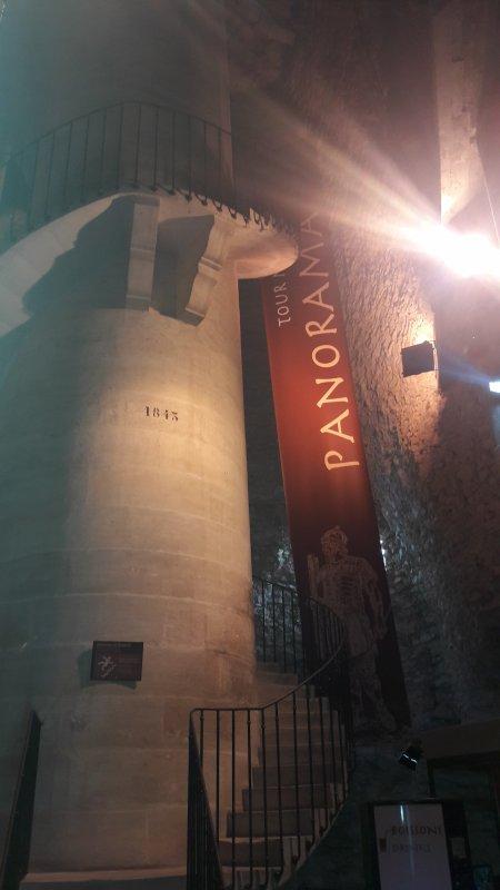 Visite de la tour Magne dép 30