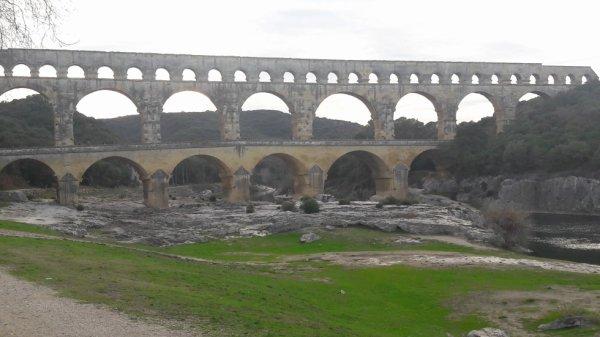 Visite du pont du Gard dép 30
