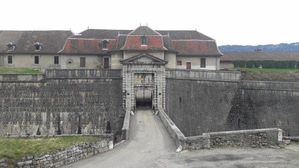 Ballade autour du Fort Barraux dép:38