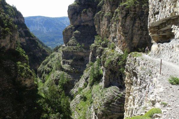 Rando dans les gorges St Pierre (Dép:04)