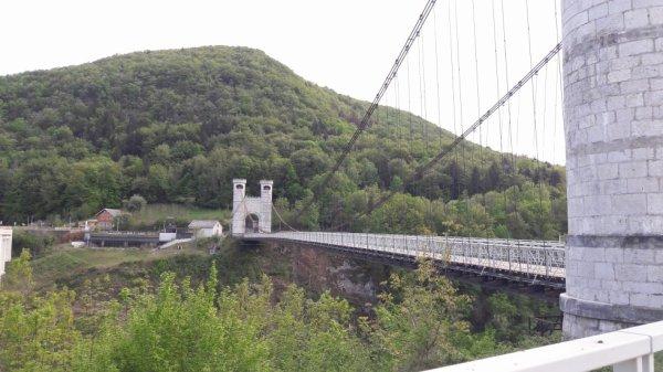 Visite du pont de la Caille (Dép:74)