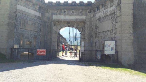 Visite du fort de Comboire (Dép:38)
