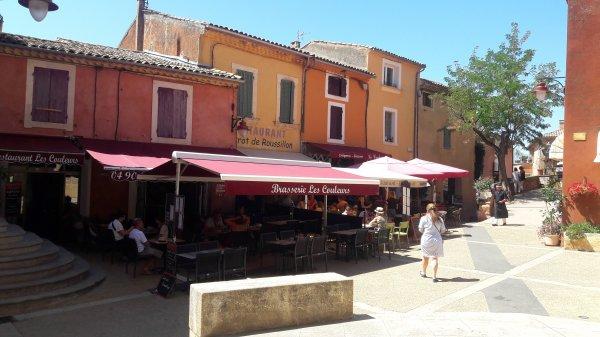 Visite du village de Roussillon et des Ocres (Dép:84)