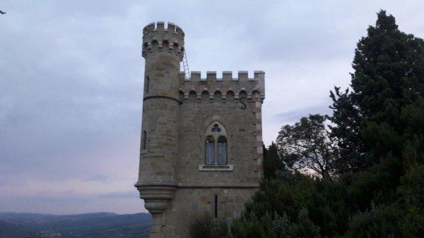 Visite du village de Renne le château (Dép:11)