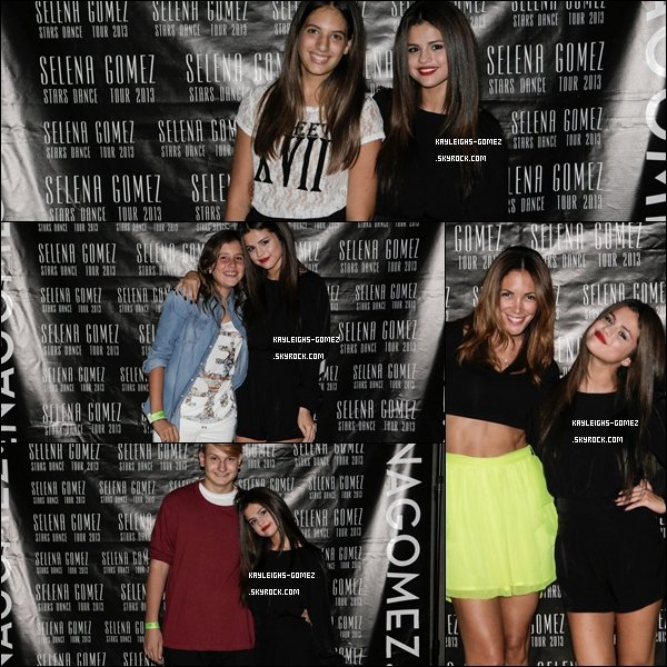 """. 12 Septembre Selena à continué le """" Stars Dance Tour """" à  Madrid en Espagne. Avent le concert Selena à fait un Meet &Greet, et comme chaque soir après ces concerts elle et va voir ses fans dehors. ."""