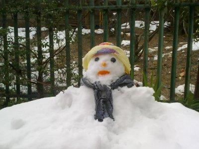 voici le bonheum de neige