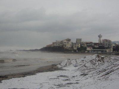 voici la plage de boumerdes aujourdhui