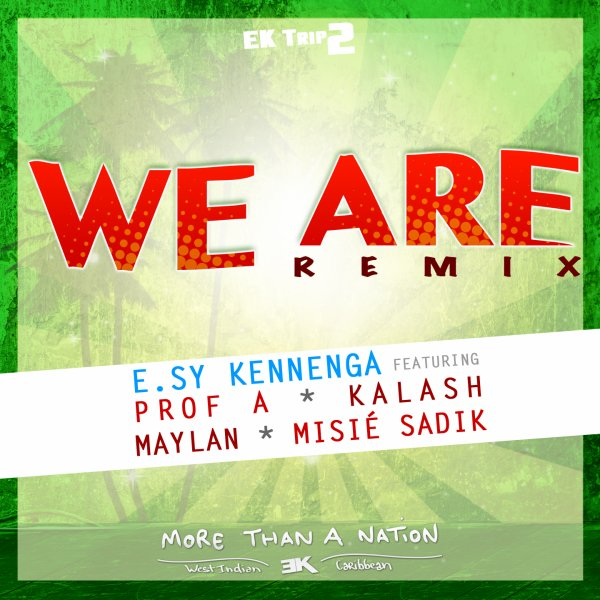 WE ARE Remix. E.sy Kennenga , Profa ,Kalash ,Maylan ,Sadik. (2014)