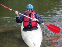 un ami ki fait di kayak