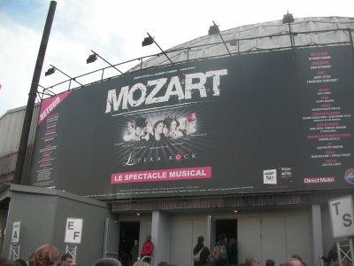 Mozart L'Opéra Rock au Palais des sports