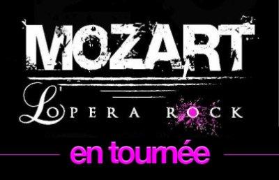 Mozart L'Opéra Rock en tournée dans toute la France