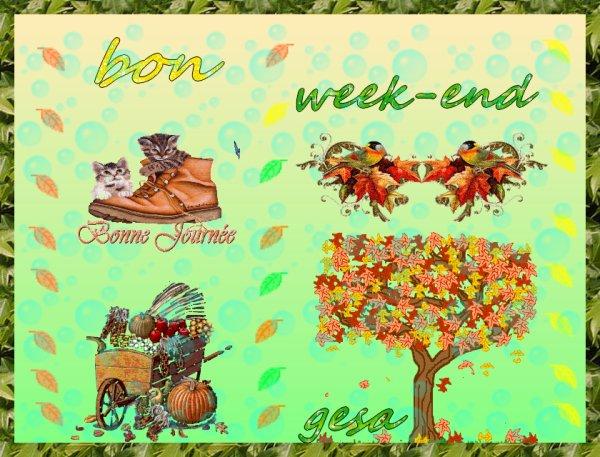 bon week-end]