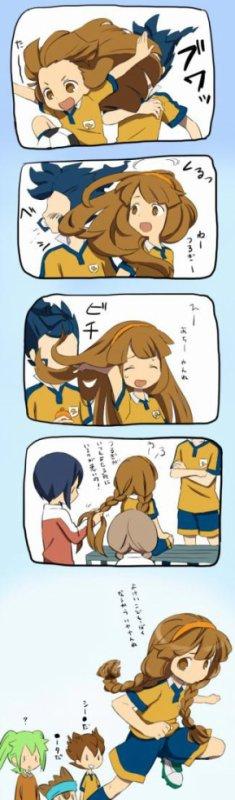 Pauvre Tsurugi... XD J'adore