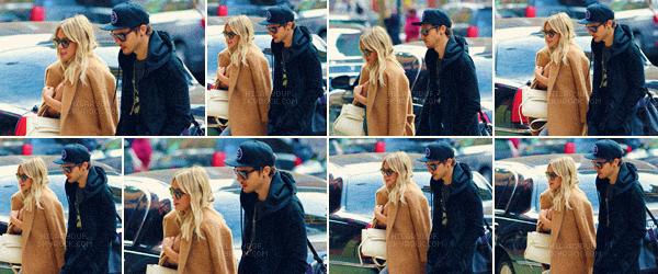 06/03/17 - La chanteuse Hilary Duff a été vu arrivant a son hôtel avec son nouveau copain Matthew à New York City.