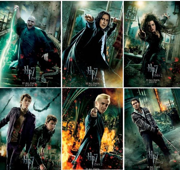 Poster de harry potter et les reliques de la mort partie 2 - Harry potter et les portes du temps bande annonce ...