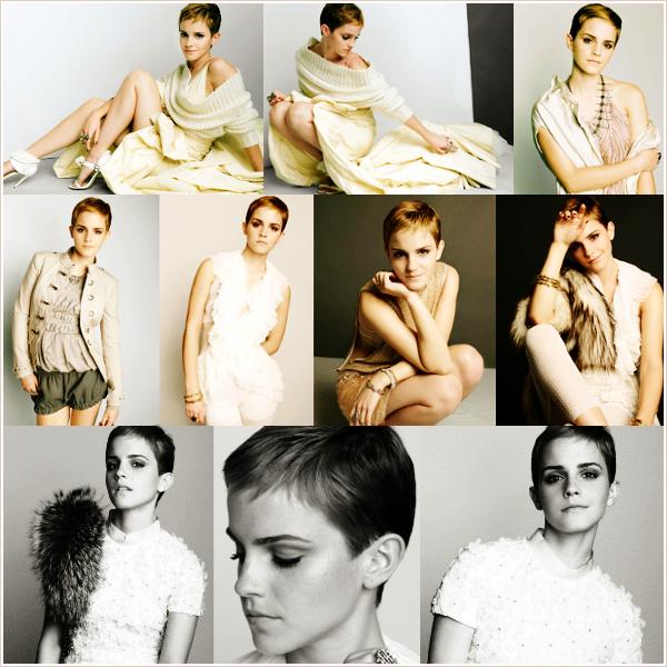 De nouvelles photos de Emma pour le shoot de Marie Claire.