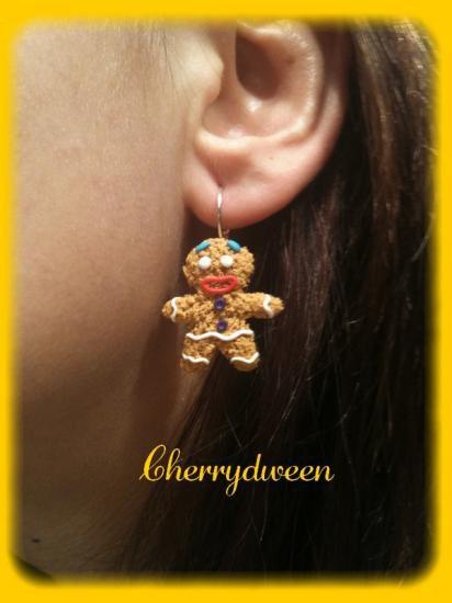 Boucles d'oreilles Ptit Biscuit